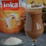 Koktajl Inka z bananami, czekoladą i mleczkiem kokosowym