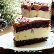 Tort gruszkowo-kajmakowy z mascarpone