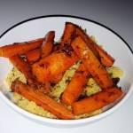 Libański kuskus z marchewką i ciecierzycą
