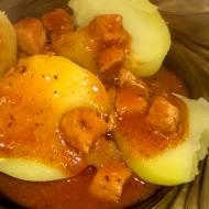 Pomidorowy gulasz wieprzowy