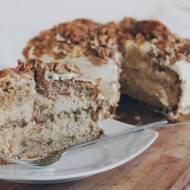 Tort orzechowo-karmelowy