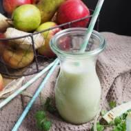 Sok z jabłkowo-gruszkowy z pietruszką i imbirem