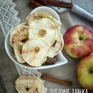 Suszone jabłka z cynamonem