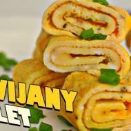 Zawijany Omlet - Szybkie Śniadanie