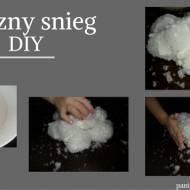 Sztuczny śnieg DIY.