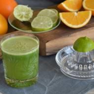 Zielony sok cytrusowy z roszponką