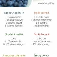 6 pomysłów na prosty koktajl owocowy