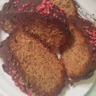 Wiśniowe ciasto  z makiem