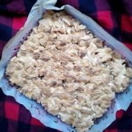 Kruchy jabłecznik z migdałami