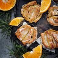 Bułeczki do odrywania pomarańczowo - cynamonowe