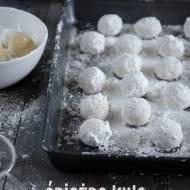 Ciasteczka śnieżne kule