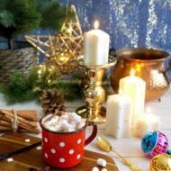 Kakao z cynamonem i piankami marshmallow