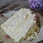 Tort Marcinek wielowarstwowy z kremem śmietanowym