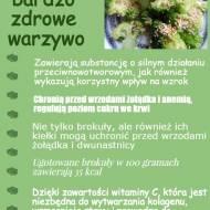 Gotowany brokuł z prażonym sezamem. Jak uprażyć sezam?