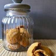 Ciasteczka dyniowe z nadzieniem
