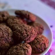 Piernikowe ciasteczka owsiane bez cukru