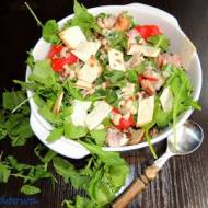 Sałatka z tuńczyka i fasoli czarne oczko