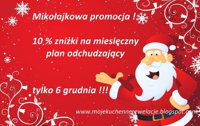 Mikołajkowa promocja na miesięczny plan odchudzający :)