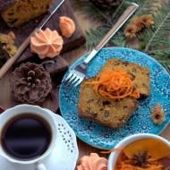 Ciasto marchewkowe bezglutenowe z marchewką karmelizowaną na soku pomarańczowym i miodzie