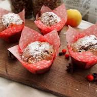 Muffinki piernikowe z jabłkiem