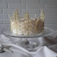 Tort dla Królowej Śniegu (albo Mikołaja)