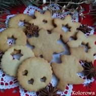 Anyżowe kruche ciasteczka