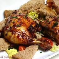 Kurczak pieczony w aromatycznej marynacie