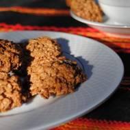 Owsiane ciasteczka kakaowe z żurawiną i jagodami Goji
