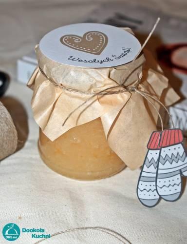 DIY - domowy peeling grejpfrutowy