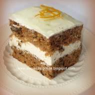 Ciasto marchewkowe z nutą cytrusów