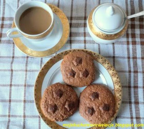 Czekoladowe ciasteczka z soczewicy