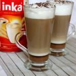 Latte macchiato z czekoladą i miodem