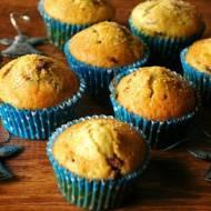 Muffinki żurawinowo-pomarańczowe.