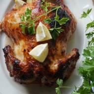 Pieczony kurczak miodowo-musztardowy
