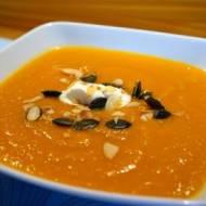 Zupa z dyni i batata z wyciskarki