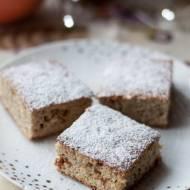 Bezglutenowe ciasto cytrusowe z suszoną morwą białą (bez cukru)