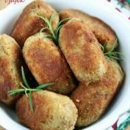 Krokiety z pieczarek i jajek (bez ciasta)