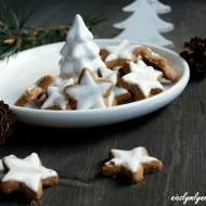 Świąteczne gwiazdki cynamonowe