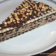 Wafle z masą czekoladową