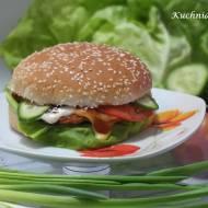 Zdrowy fast food czyli hamburger drobiowy