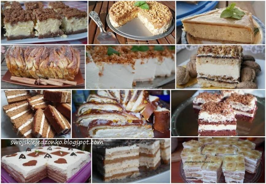 Ciasta na święta -12 przepisów