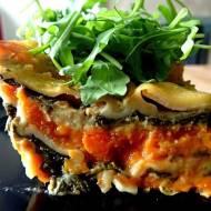 Lasagne dyniowo - szpinakowa - zdrowy, warzywny obiad