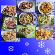 Świąteczne sałatki