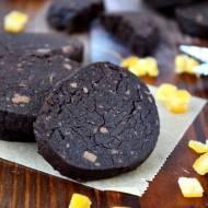 Kruche ciastka czekoladowo gryczane ( bezglutenowe )