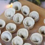 Uszka z grzybami do wigilijnego barszczu
