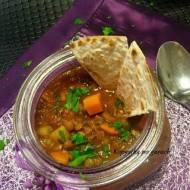 Harira-marokańska zupa z soczewicy