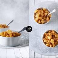 Ryż z duszonymi jabłkami z cynamonem i goździkami (danie w 10-15 minut)