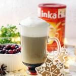 Kawa Inka z syropem migdałowo-wiśniowym