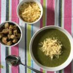 Zupa krem ze szpinaku i ziemniaków