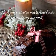 Kakaowe ciasto marchewkowe – oszukany piernik
